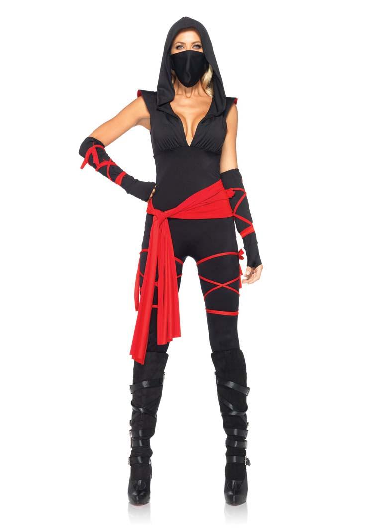 Deadly Ninja Catsuit Costume
