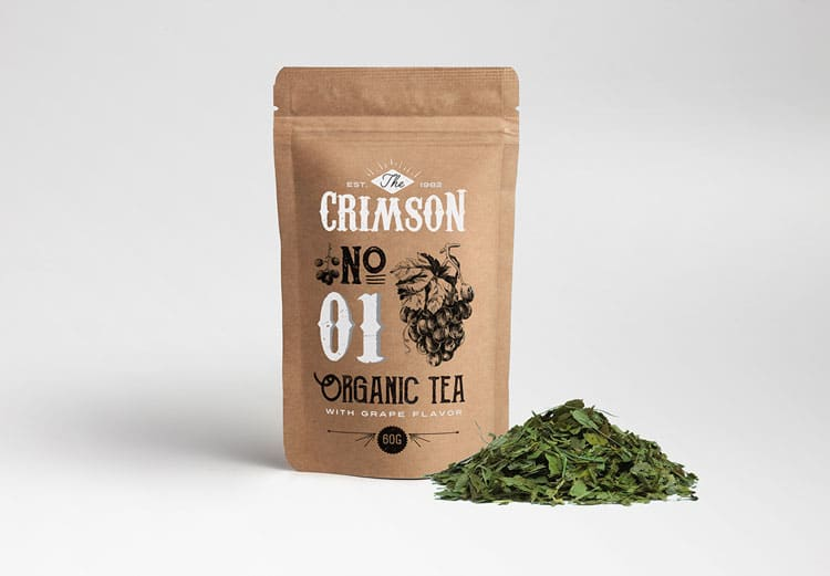 Tea Retro Packaging Design