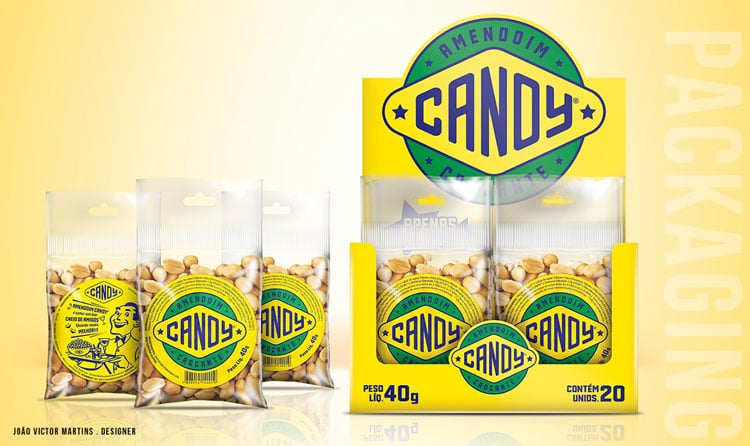 Nuts Retro Packaging Design