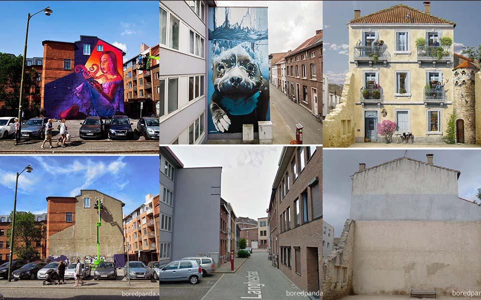 Amazing Street Art Transformations