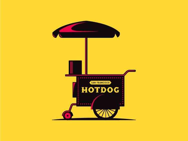 Hot Dog Logo Ideas