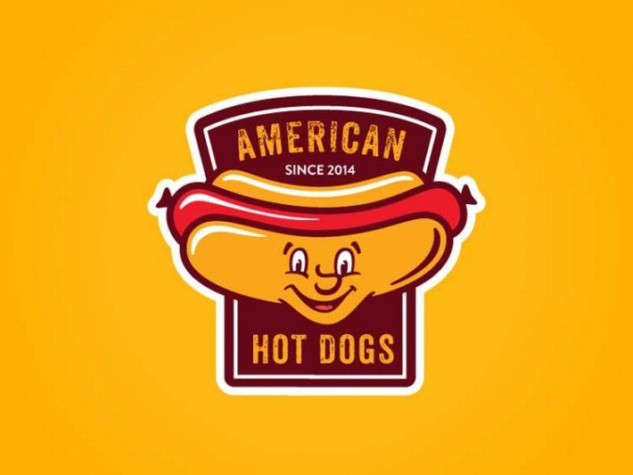 Hot Dog Logos