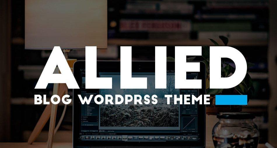 Allied Blog WordPress Theme