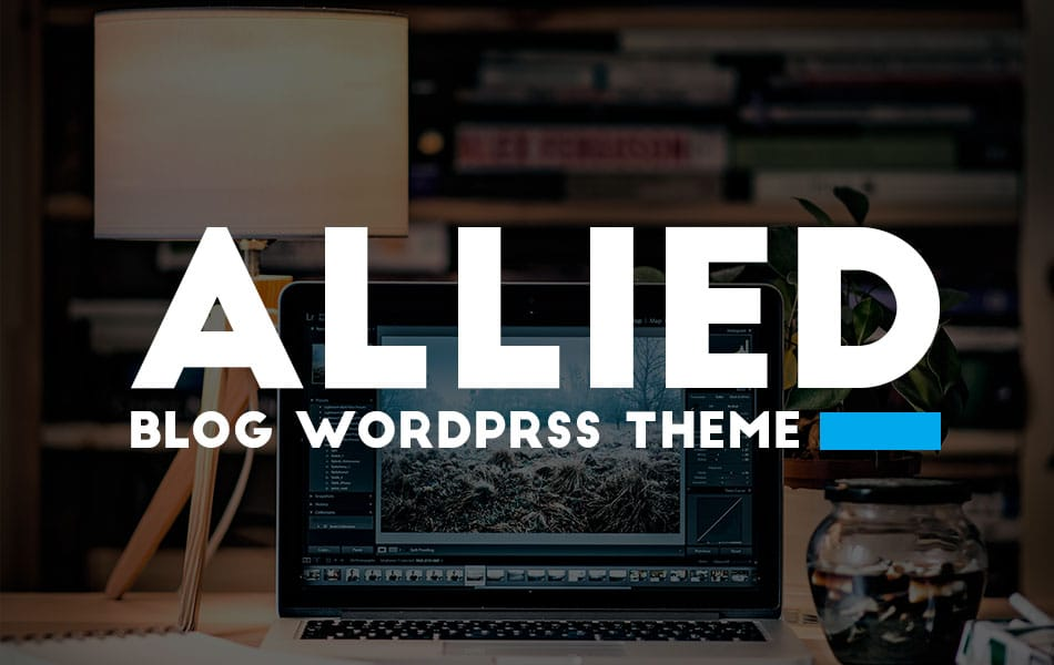 Allied Responsive Blog WordPress Theme