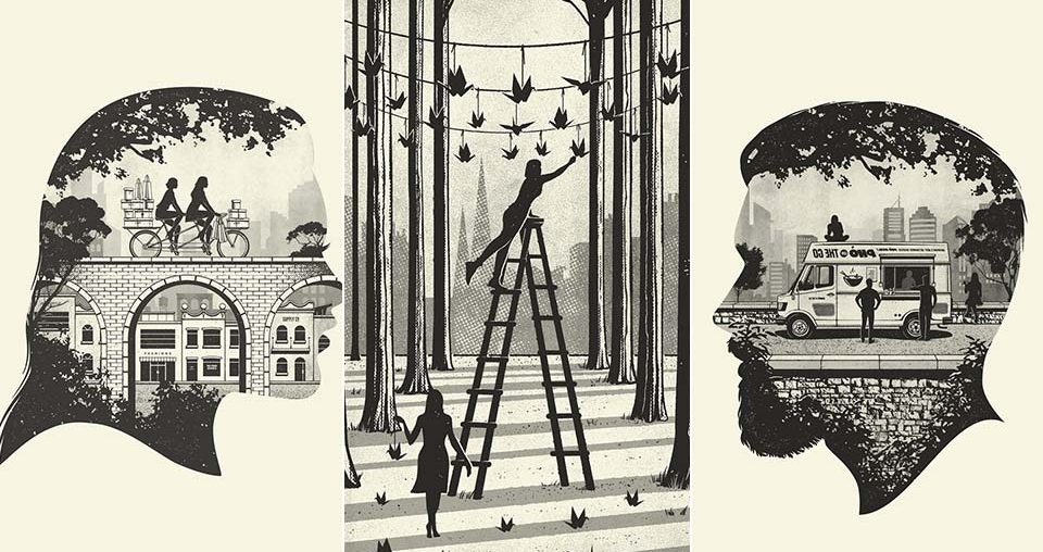 Brilliant Insider Guides Illustrations
