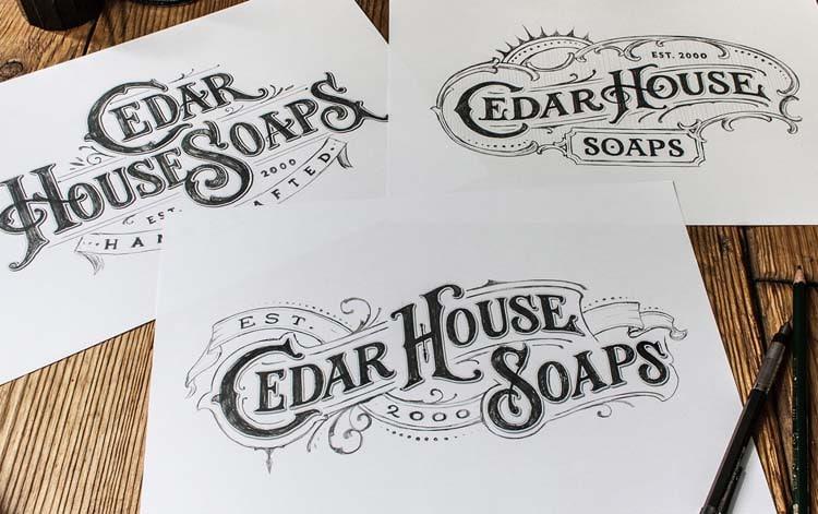 hand drawn logo design 2016