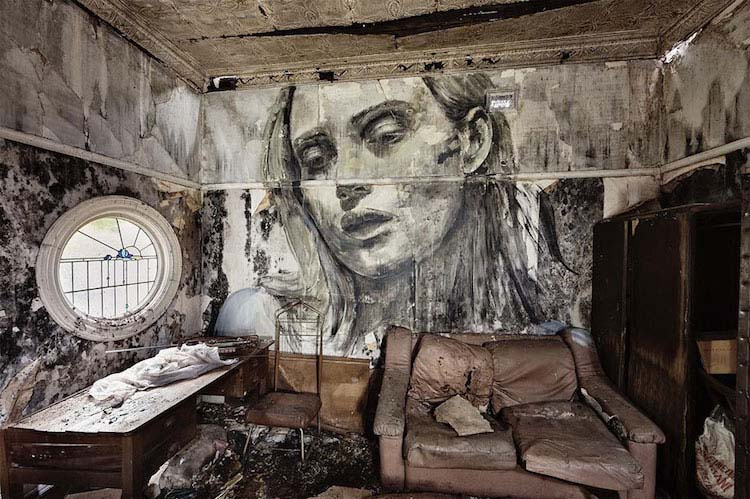 collapse-portraits-on-abandoned-buildings