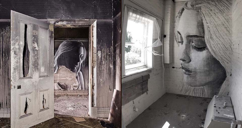 Collapse Portraits on Abandoned Buildings