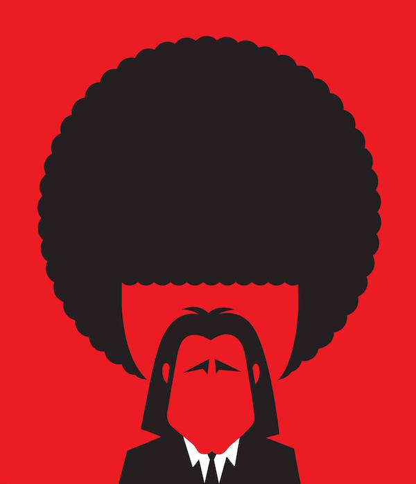 Awesome Negative Space Illustrations