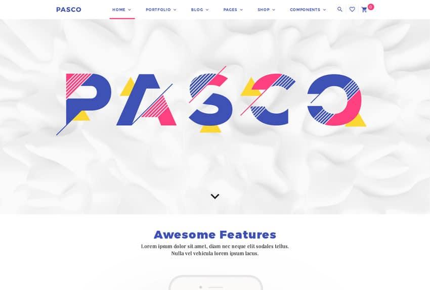 website design inspiration 2017