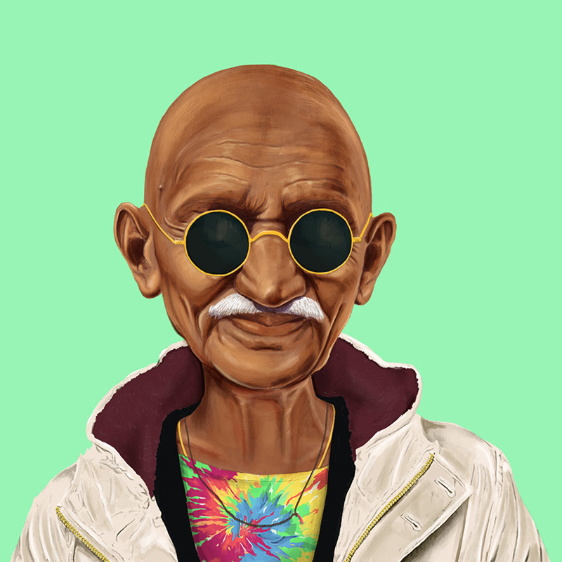 Amazing Hipstory Illustration