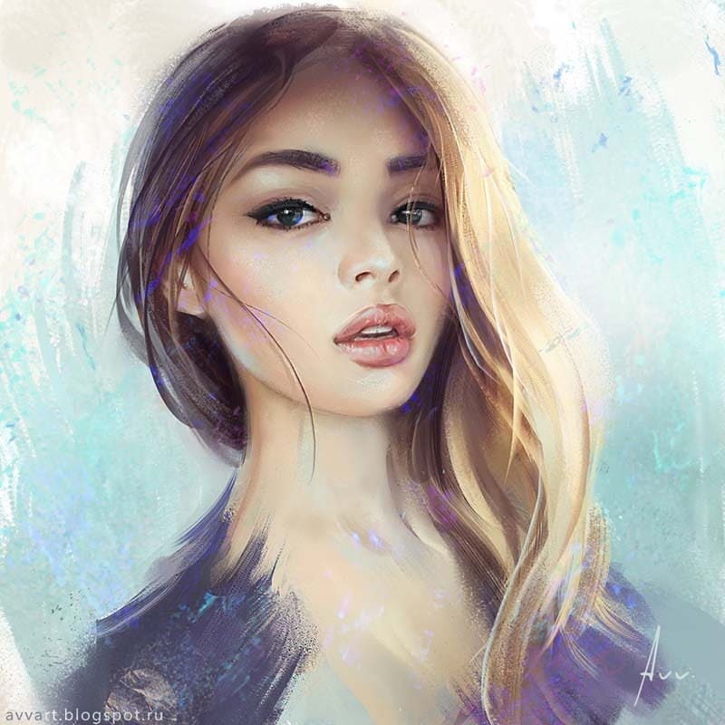 Girls Illustration Portraits
