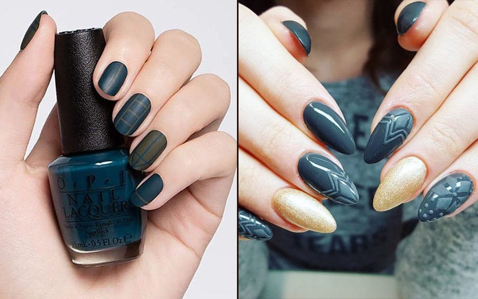 Beautiful and Awesome Dark Nails Ideas for Winter Season 1