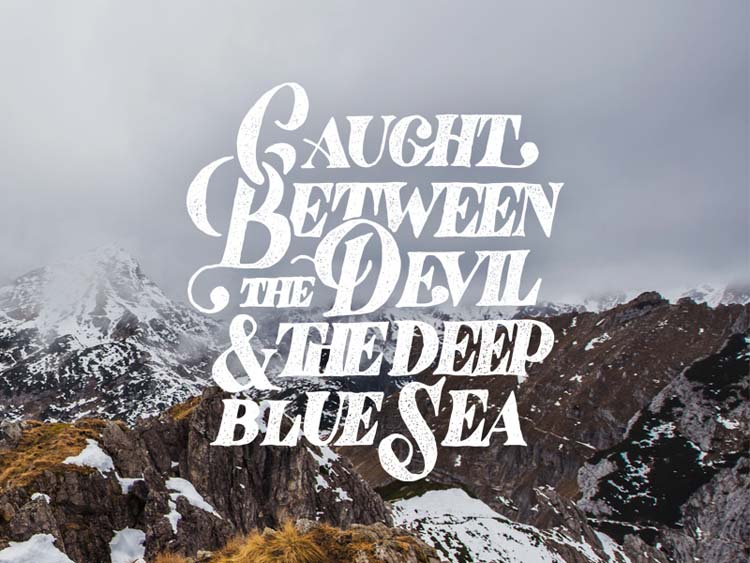 Excellent Typography and Lettering Designs