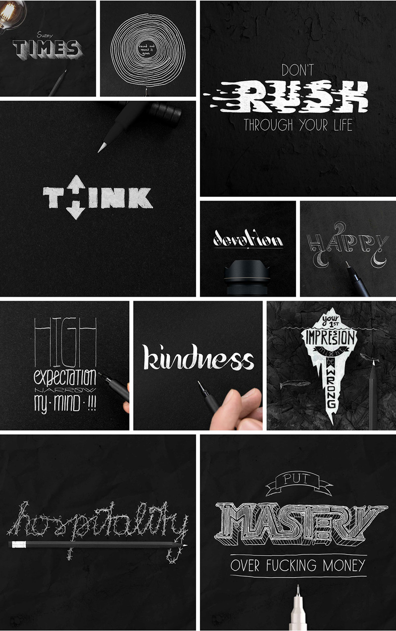 Typographic-Artwork-Illustrations