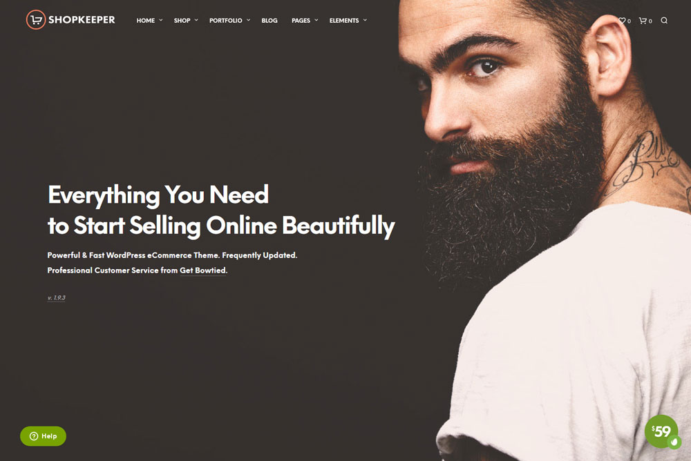 best WordPress themes for shops