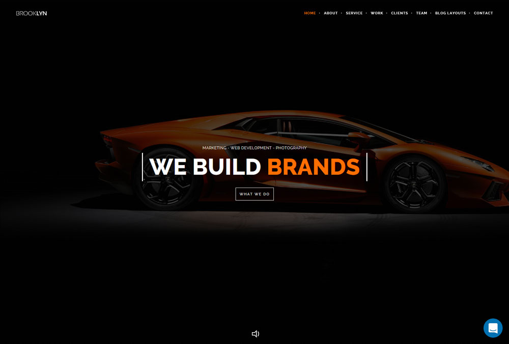 best WordPress themes for brands
