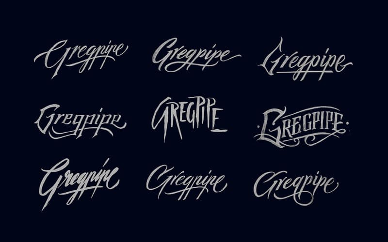 Hand Drawn Logo Designs