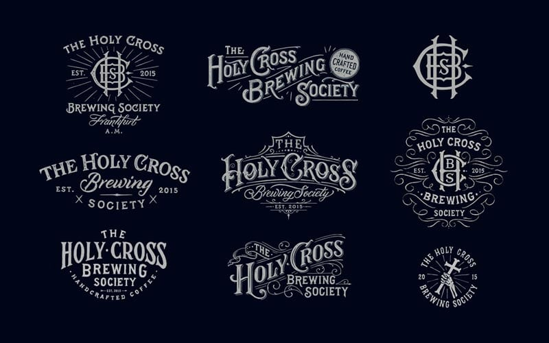 Hand Drawn Lettered Logos