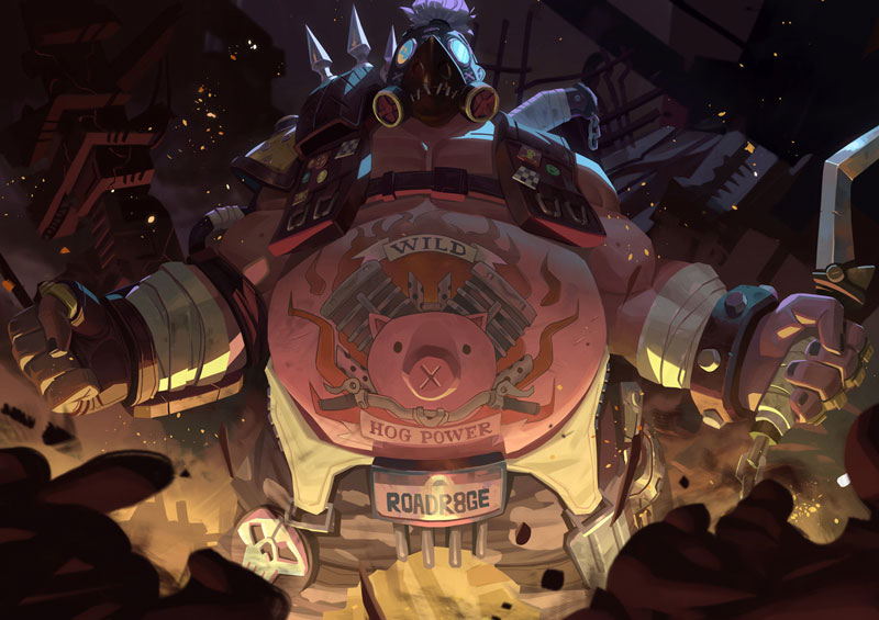 Overwatch Roadhog Fanart