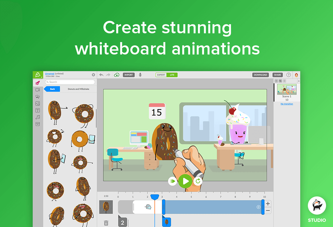 Create Animated Videos and Whiteboard Animations with Animatron 42