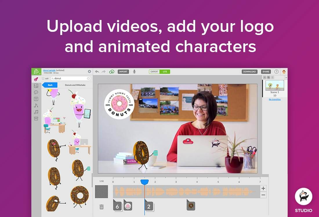 Create Animated Videos and Whiteboard Animations with Animatron 37