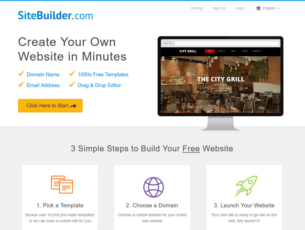 """Top 10 Free Website Builders That Are Actually """"Free"""" and """"Useful"""" 37"""