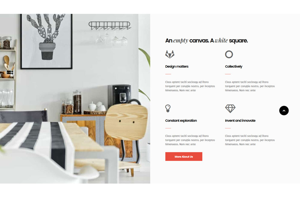 WordPress Theme for Architecture and Interior Design