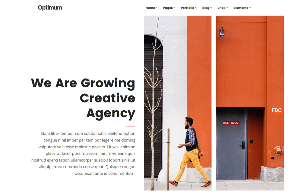 Creative Theme for Creative People