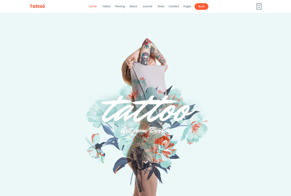 WordPress Themes for Tattoo Designers