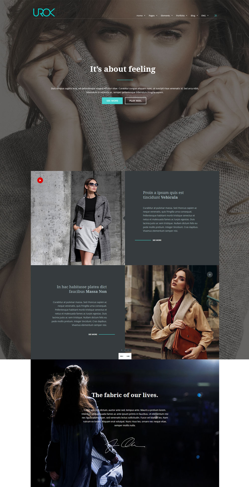 Responsive Multipurpose WordPress Theme for Designers
