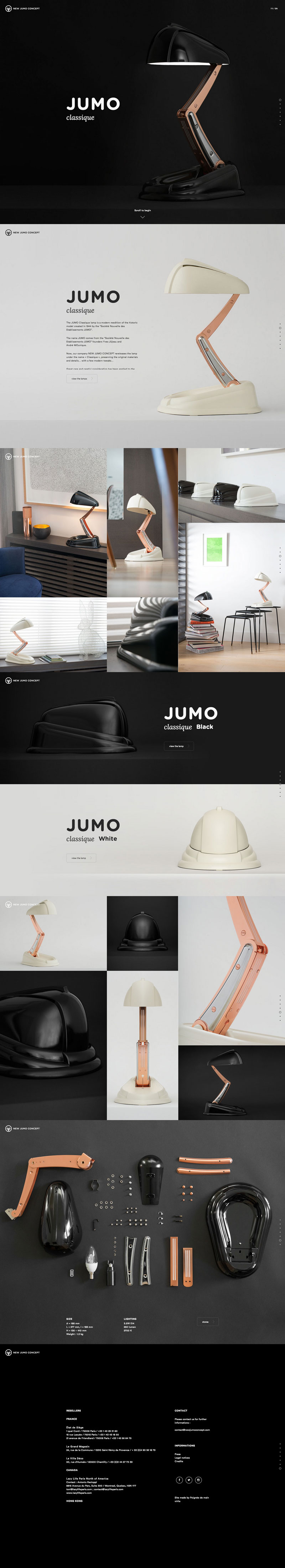 Jumo Lamp Product Web Inspiration