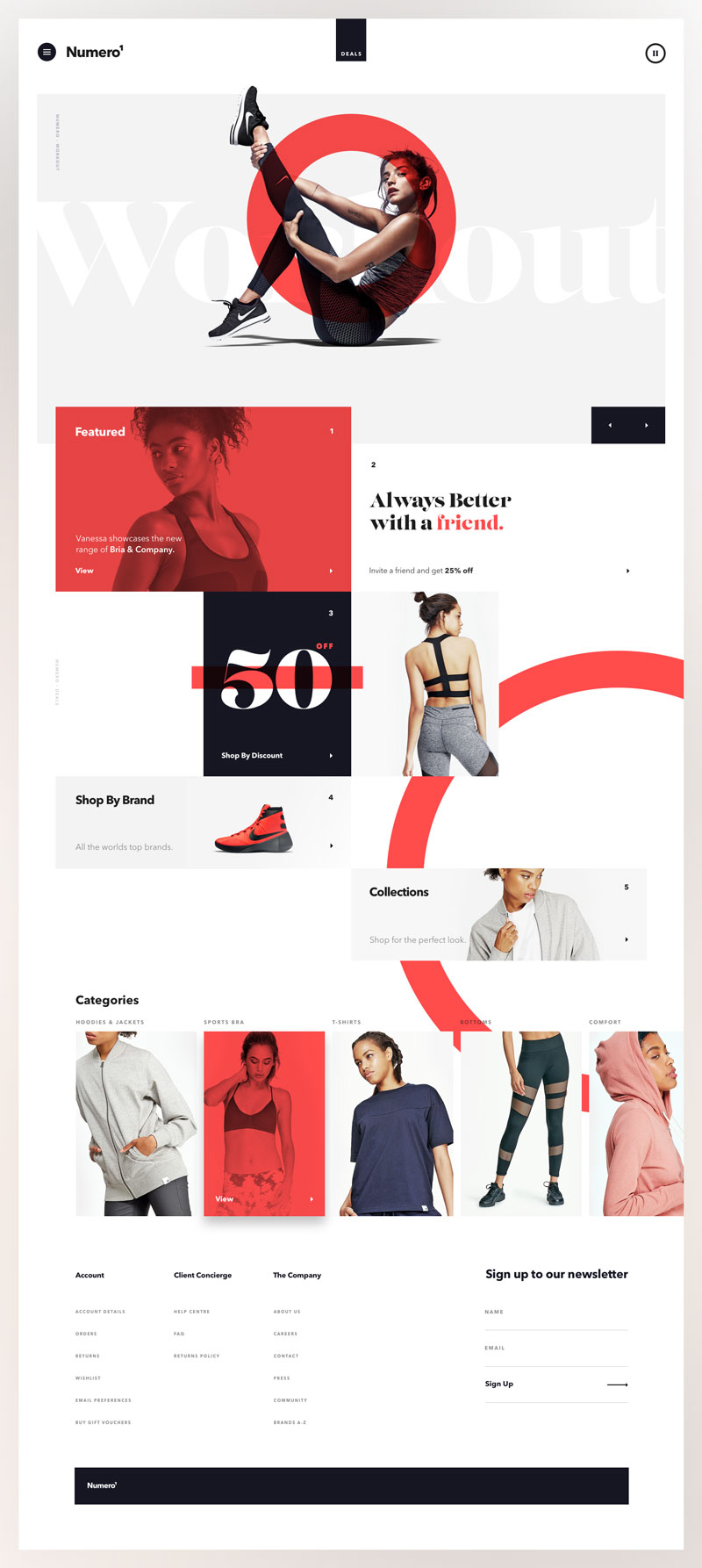 Website Design Inspiration for Products