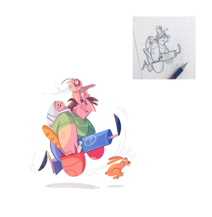Creative-Illustration-Design-Examples-024