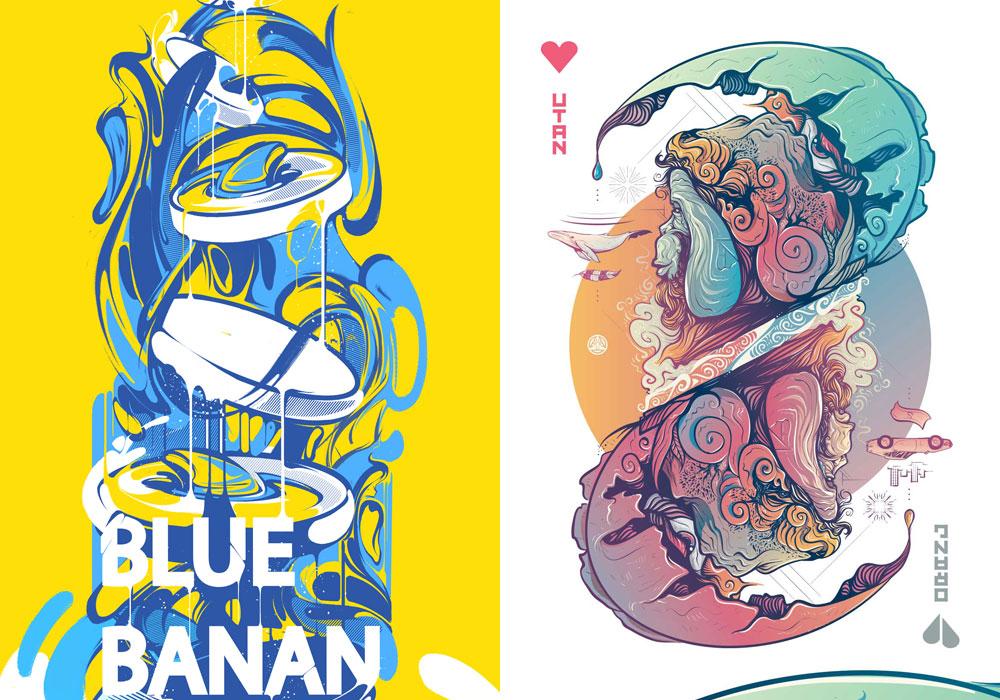 Creative Illustration Design Examples