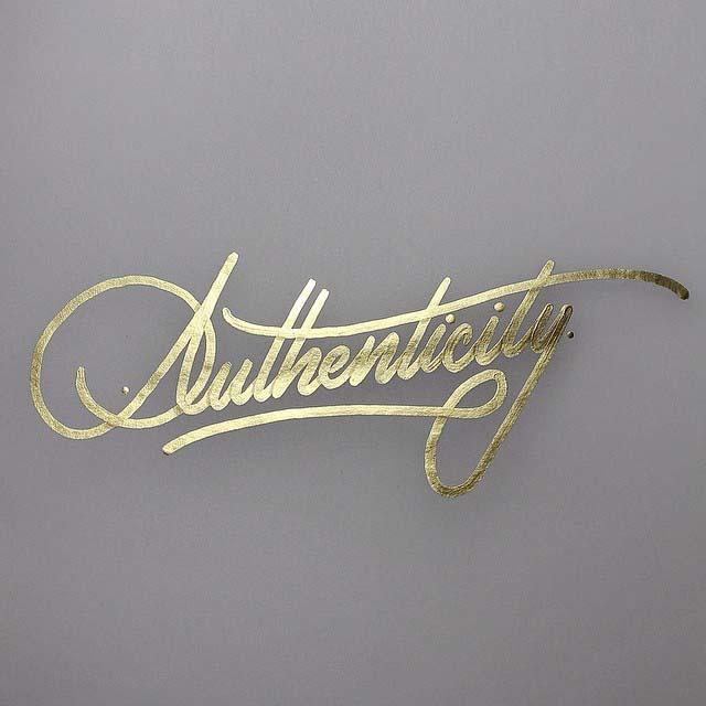 Calligraphy Typography