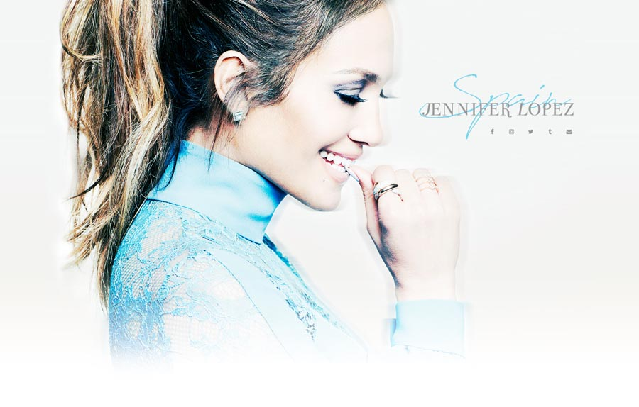 Jennifer Lopez Singer & Actress Website Design