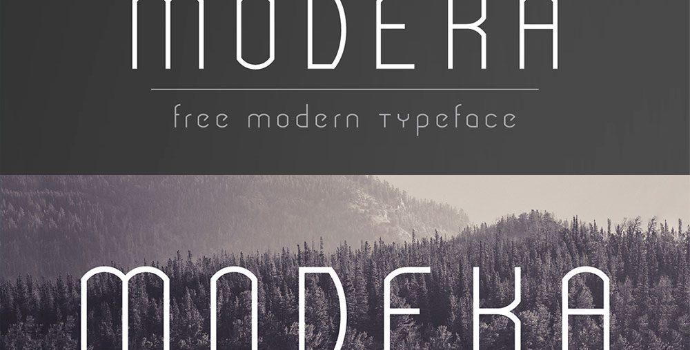 MODEKA Free Font