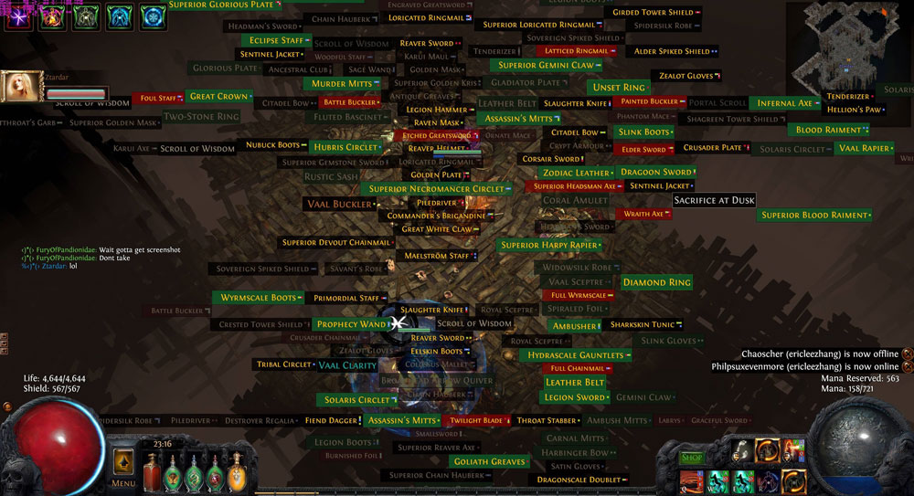 Neversink Loot Filter version 5.21 for Game Path of Exile
