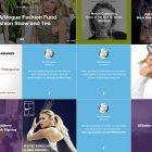 Popular Celebrity Website Design for Inspiration