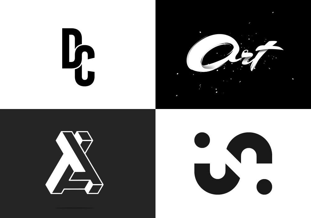 25 Creative Monochrome Logos for Your Inspiration 16
