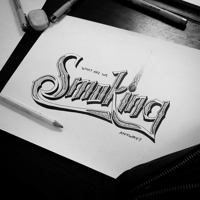 Inspired Typography Art Work Ideas