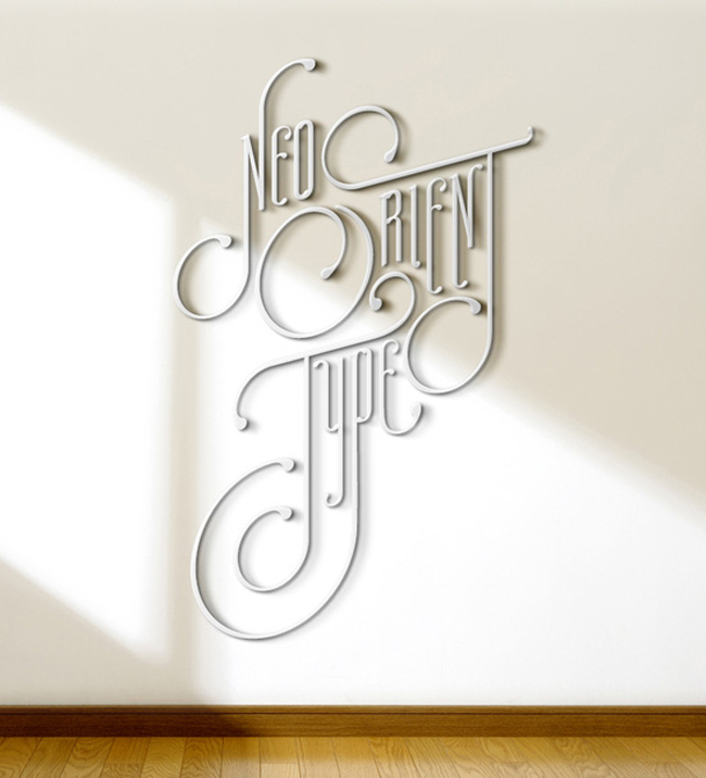 Typography Art Work Ideas
