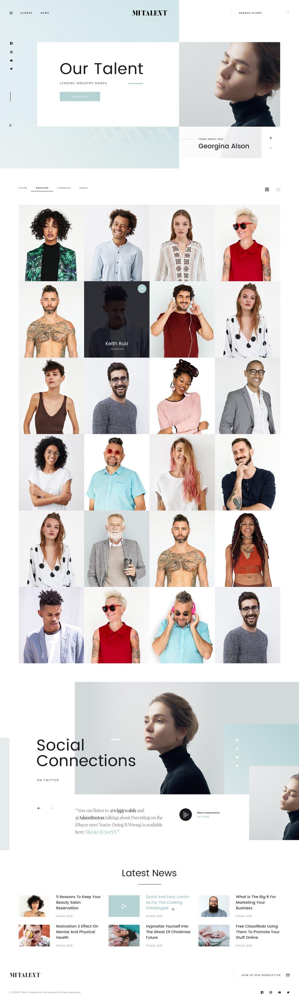 MI Talent - Free Website PSD Template for Agencies-002