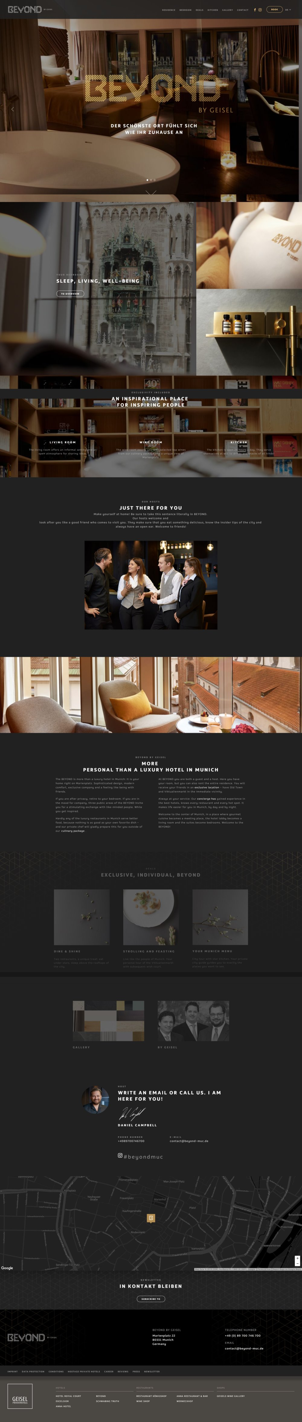 Best Hotel Website Designs for Your Inspiration