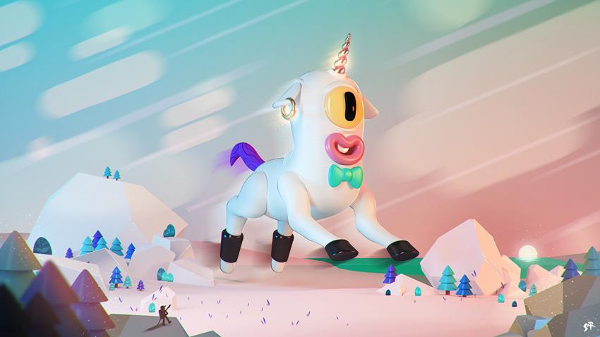 Brilliant 3D Characters