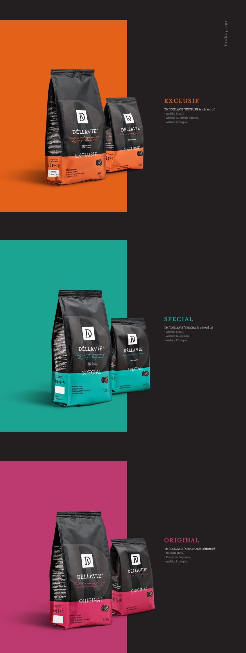 Dellavie Coffee Packaging