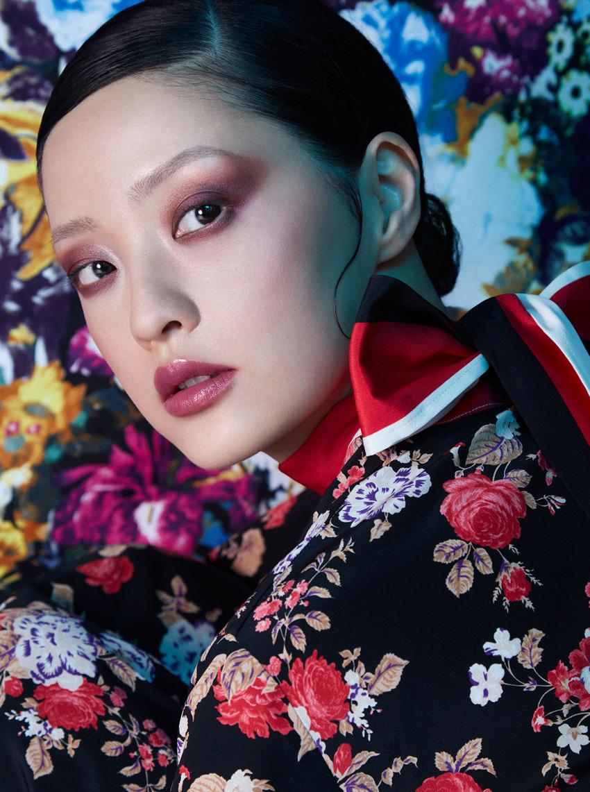 Harper's Bazaar Flower Fashion Photography