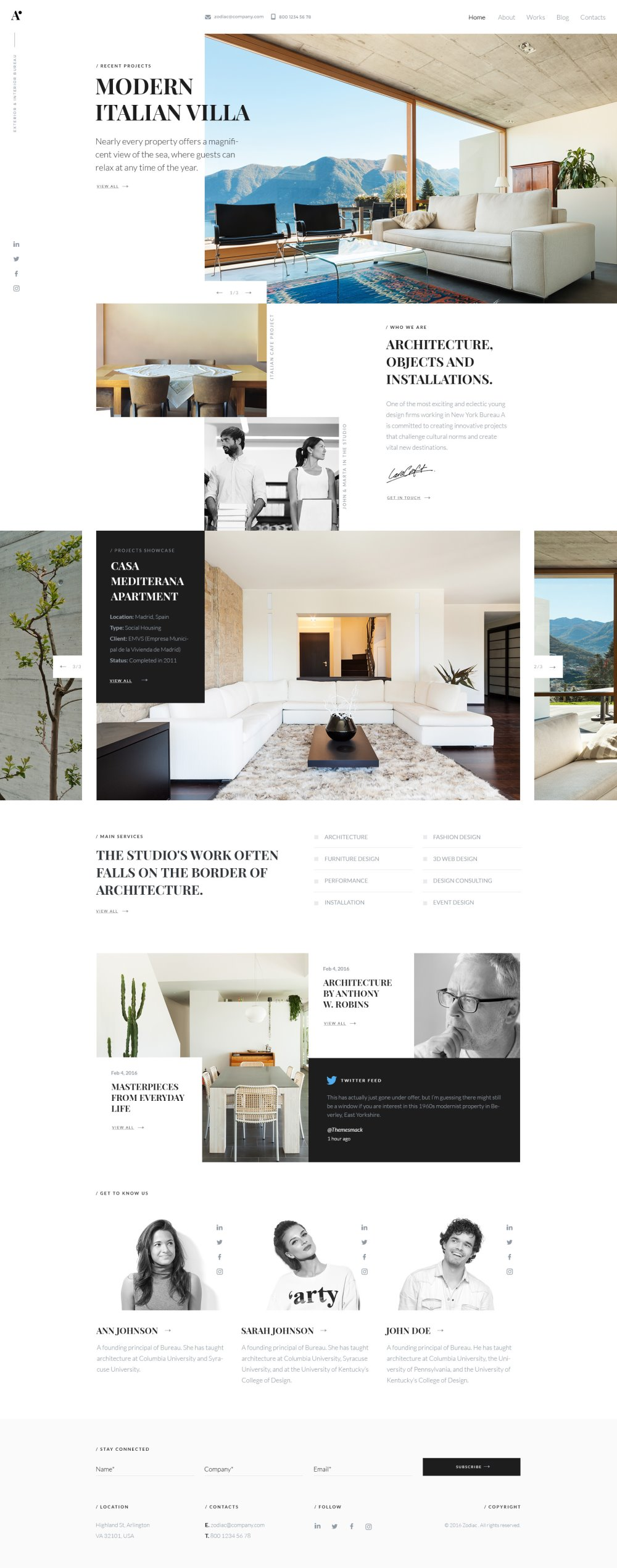 Best Architecture Website Designs for Inspiration 1