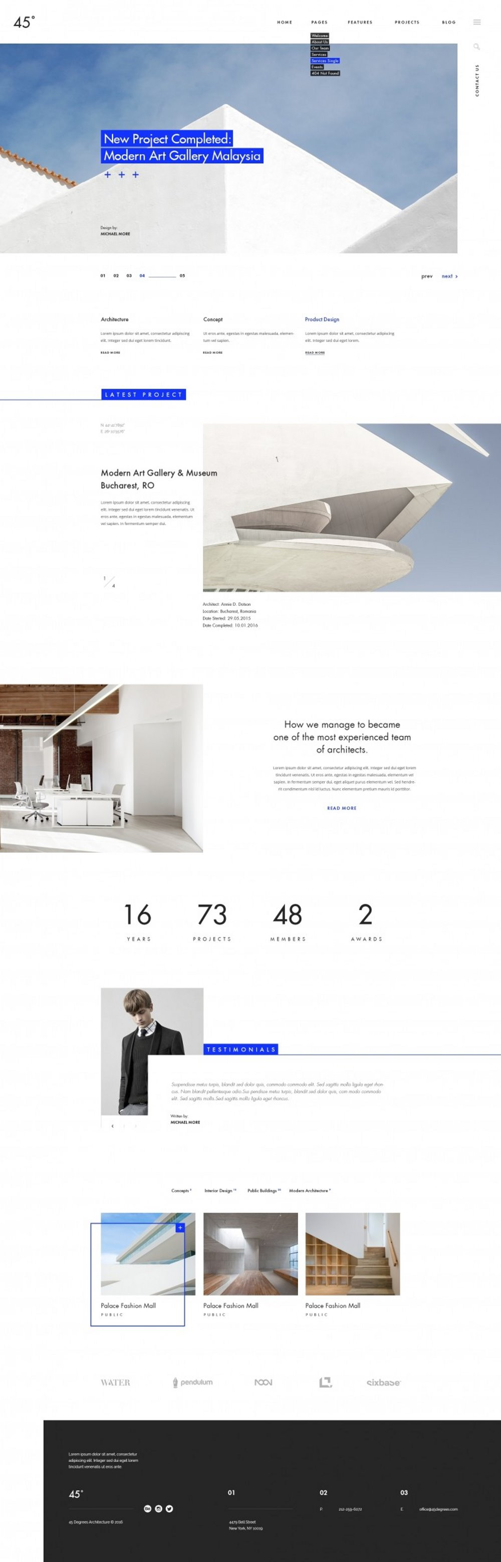 Best Architecture Website Designs for Inspiration 4